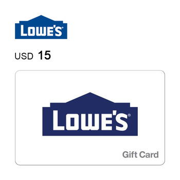Lowe's e-Gift Card $15
