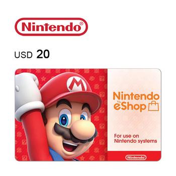 Nintendo e-Gift Card $20