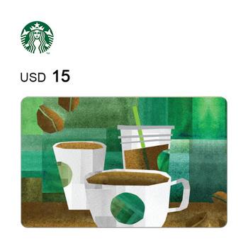 Starbucks e-Gift Card $15