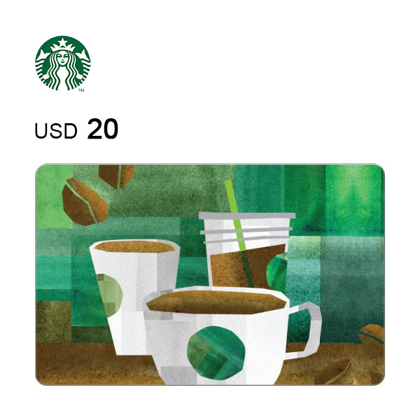Starbucks e-Gift Card $20Image