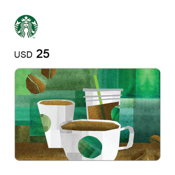 Starbucks e-Gift Card $25