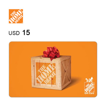 The Home Depot e-Gift Card $15