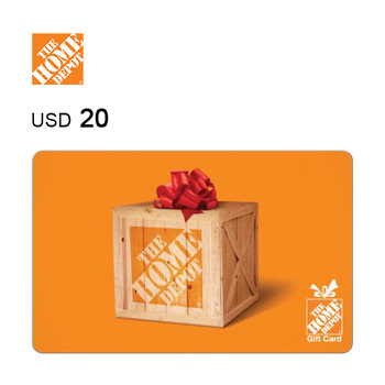 The Home Depot e-Gift Card $20
