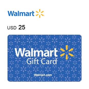 Walmart e-Gift Card $25
