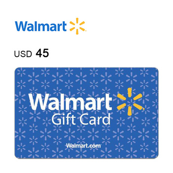 Walmart e-Gift Card $45