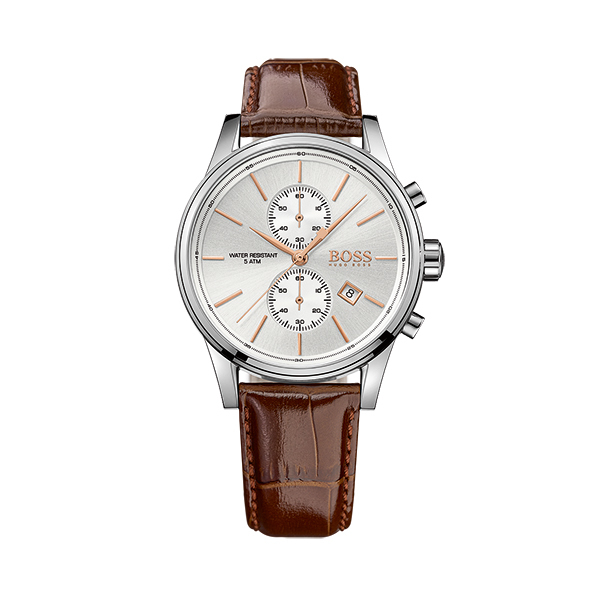 Hugo Boss JET Gents Chronograph with Leather StrapImage