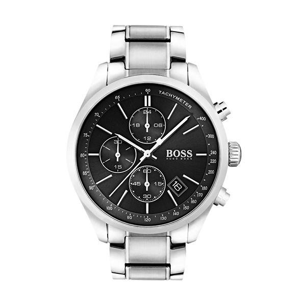 Hugo Boss GRAND PRIX Gents Chronograph with Steel BraceletImage