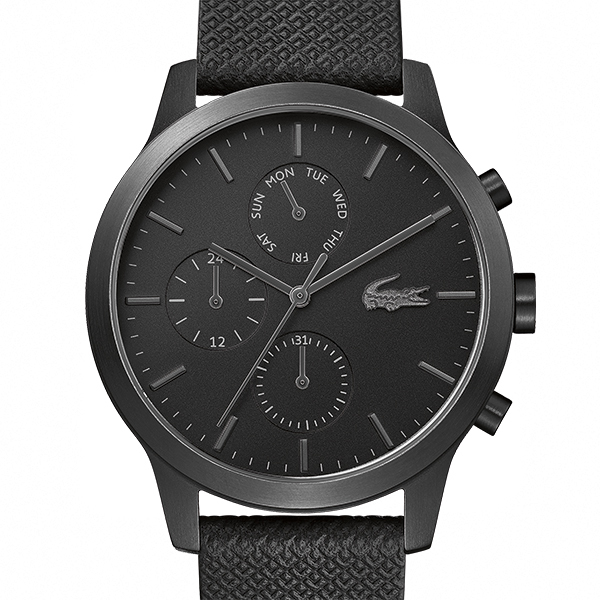 Lacoste 12.12 Multifunction Gents Watch − BlackImagen