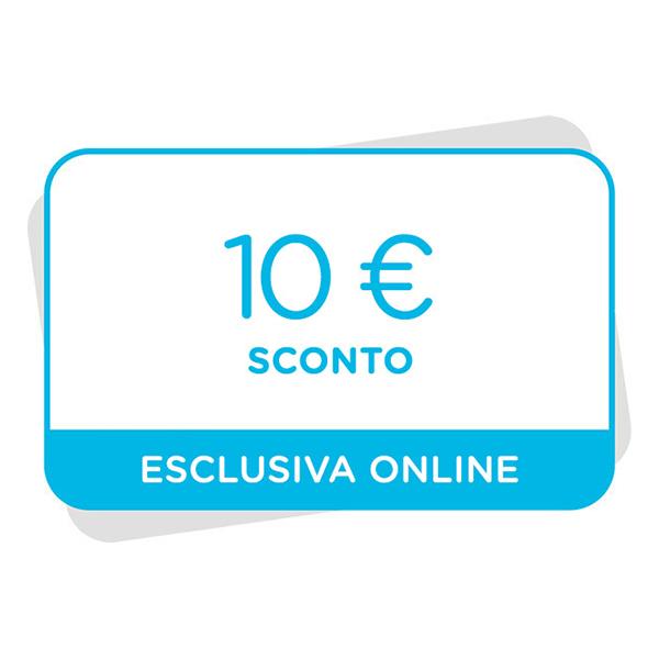 10€ di sconto al tuo prossimo acquisto sul sitoImmagine