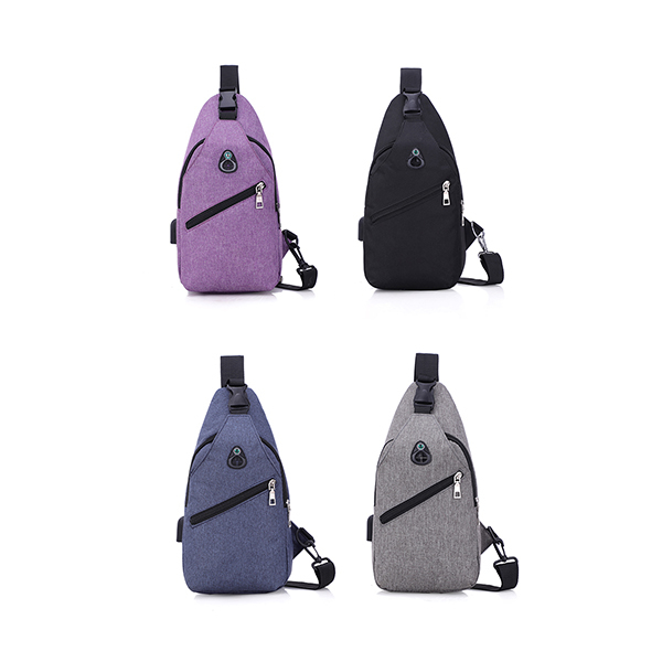 Trends Sling Bag with USB Port Image