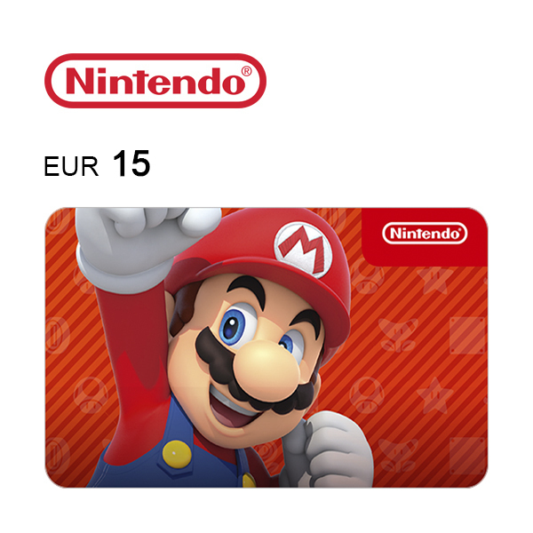 Carta regalo Nintendo da 15€Immagine