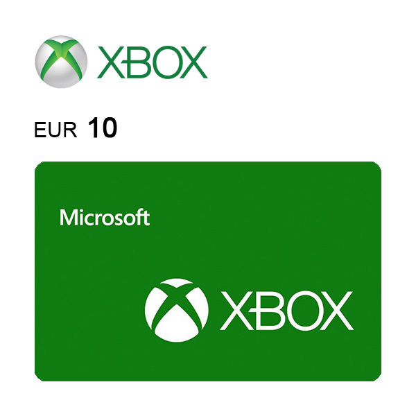 Carta regalo Xbox da 10€ Immagine