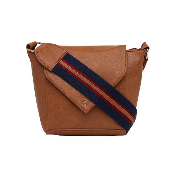 Horra INCA Sling Bag - Dark Tan Image
