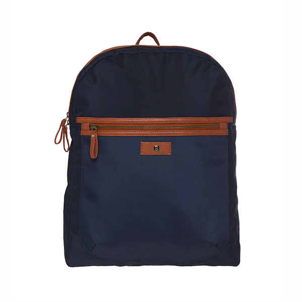 Horra LONDON Backpack - Navy Blue/Tan Image