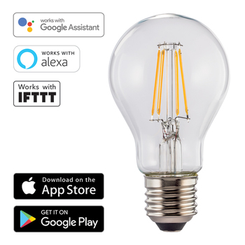 Hama Wi-Fi LED Light − E27, 7W, Warm White