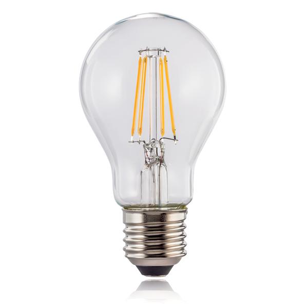Lâmpada Wi-Fi LED da Hama − E27, 7W, branca quenteImagem