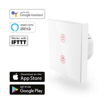 Hama Wi-Fi Touch Wall Light Switch