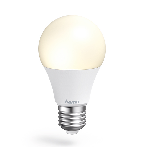 Lâmpada Wi-Fi LED da Hama − E27, 10W, brancaImagem