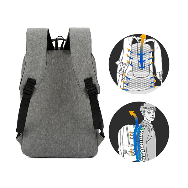 Trends Multi-Function Laptop Backpack with USB Charging PortImage