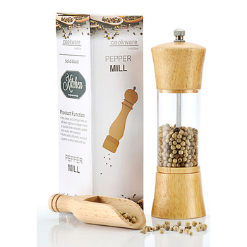 Trends Oakwood Pepper Grinder & Salt Shaker