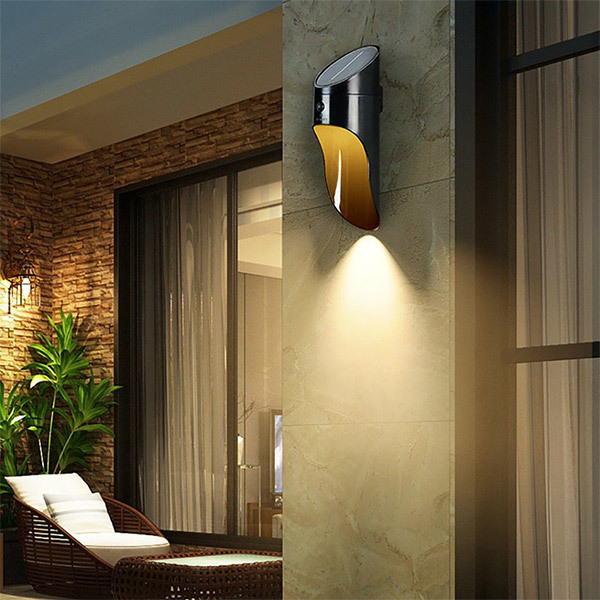 Trends Solar Microwave LED Wall LampImage