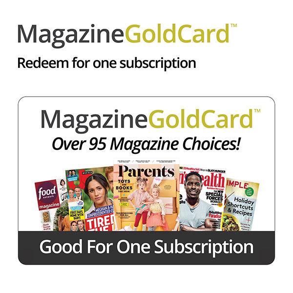 Magazine Gold CardImage