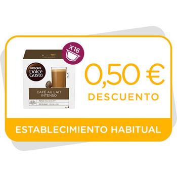 Descuento de 0,50€ en Café con Leche Intenso en establecimiento
