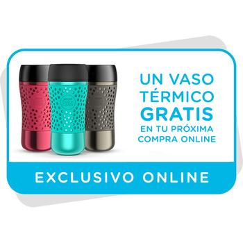 Vale para un vaso térmico gratis en tu próxima compra online