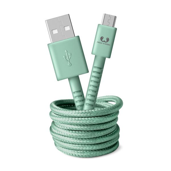 Fresh 'n Rebel Cavo di ricarica da USB a micro-USB 1,5mImmagine