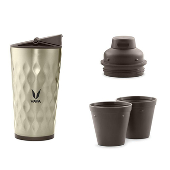 Vaya Drynk Sipper with Gulper Set - 350ml