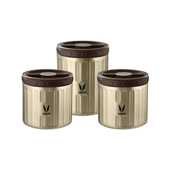 Vaya PRESERVE Storage Jars Set - 3pcs