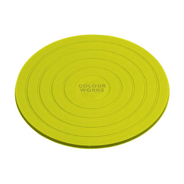 Colourworks Silicone Ronde Onderzetters − Set van 4Afbeelding