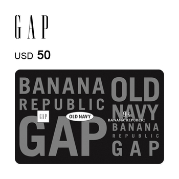 GAP Options e-Gift Card $50