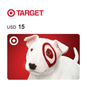 Target e-Gift Card $15