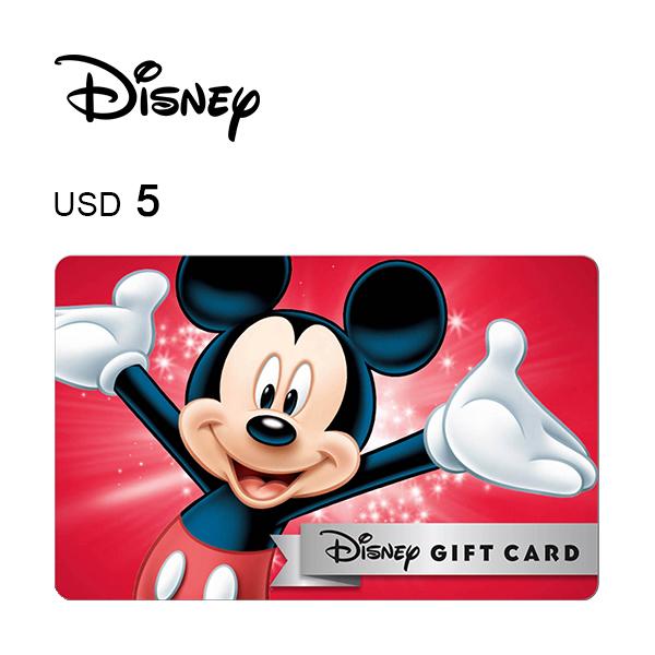 Disney e-Gift Card $5Image