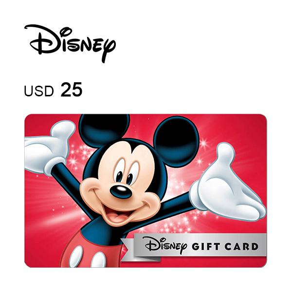 Disney e-Gift Card $25Image