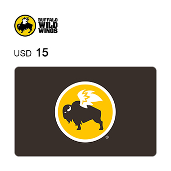 Buffalo Wild Wings e-Gift Card $15