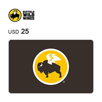 Buffalo Wild Wings e-Gift Card $25