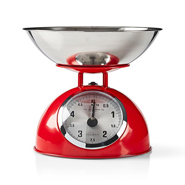 Balanças retro analógicas de cozinha da Nedis Imagem