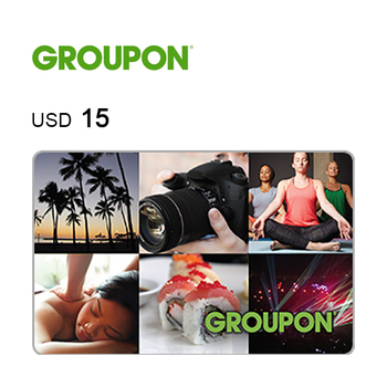 Groupon e-Gift Card $15