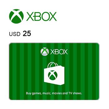 Xbox e-Gift Card $25