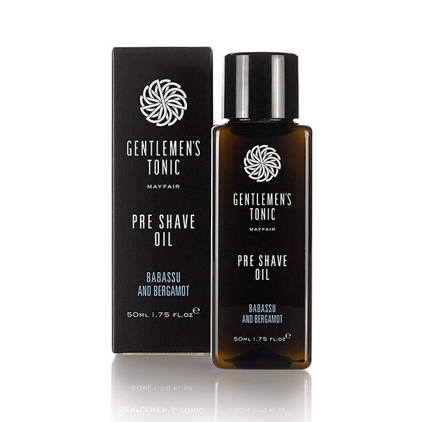 Gentlemen's Tonic Pre Shave Oil 50ml Image