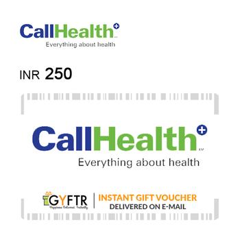 CallHealth Instant Gift Voucher INR250