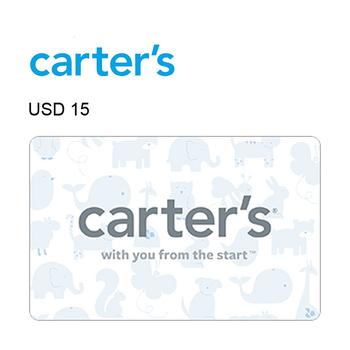 Carter's e-Gift Card $15