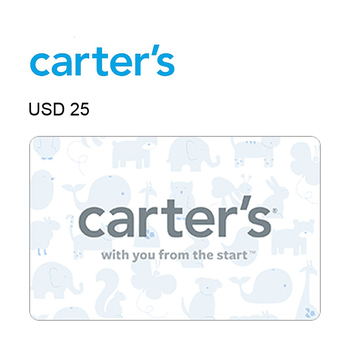 Carter's e-Gift Card $25