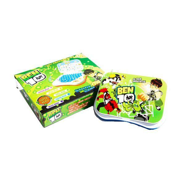 Pinnacle Vision BEN 10 Talking English Learning Laptop Toy Image