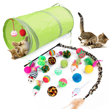 Trends Pet Cat Toy Set 21pcs