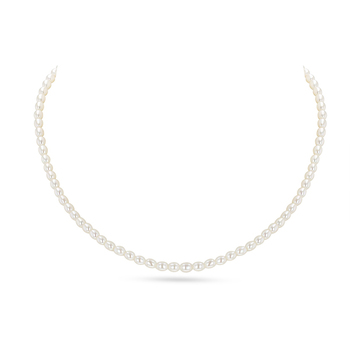 UMI Pearls XENIA Rice Shape Freshwater Pearl Necklace