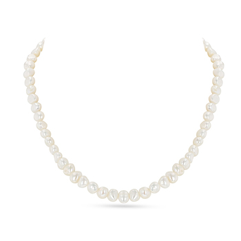 UMI Pearls ISOBEL Flat Pearl Necklace