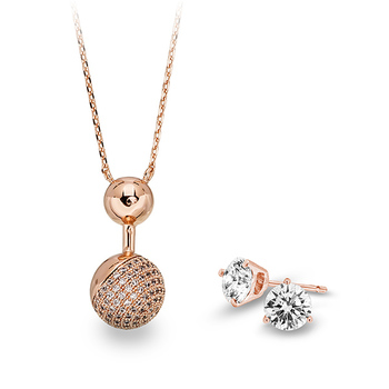 Pica LéLa VOGUE Pendant Necklace + Starlight Earrings
